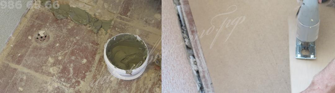 Методика проведения работ по укладке покрытия