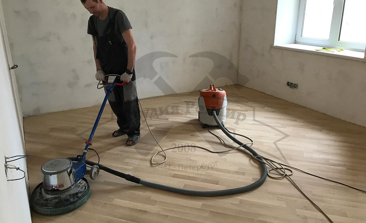 Косметический ремонт деревянных полов